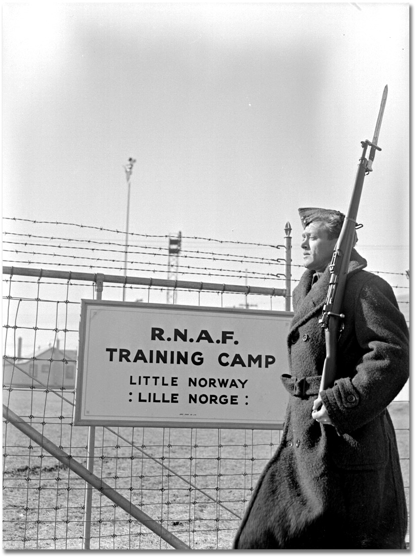 Little Norway, November 1940, Royal Norwegian Air Force training facility in Toronto, Canada (Archive of Ontario).